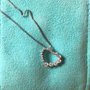 BEN MOSS sterling silver w/Canadian ice diamonds